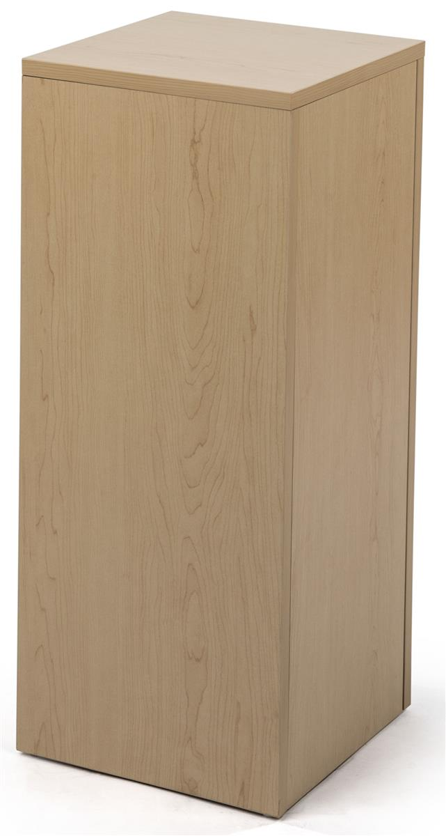 White Laminated Particle Board ~ Jewelry pedestal laminated melamine particle board