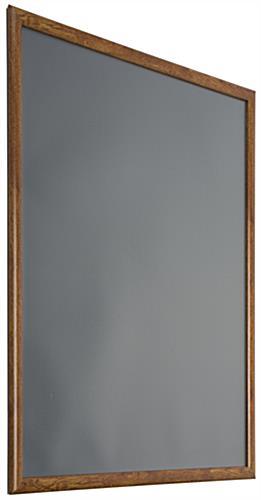 Faux Wood Snap Frame 22 X 28 Aluminum