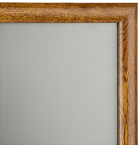 "24"" x 36"" Wooden Snap-Open Frame, 25.25"" Overall Width"