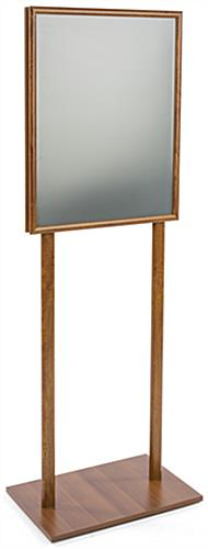 "22"" x 28"" Wooden Poster Stand, 68"" in Height"