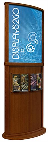 Cherry Poster Stand with Double Sided Display