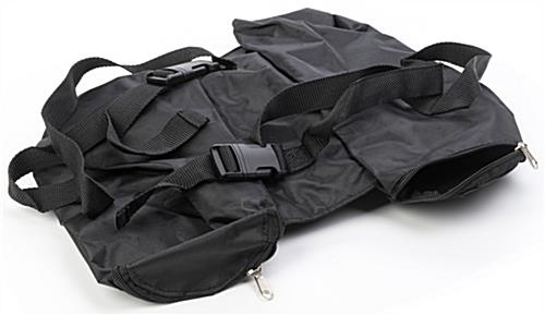 Sandbags for pop up tents sold without sand