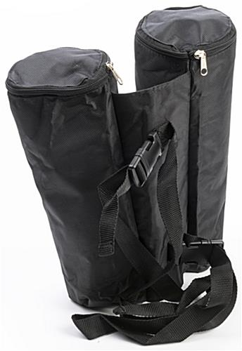 Sandbags for pop up tents with overall weight of 20 pounds when full