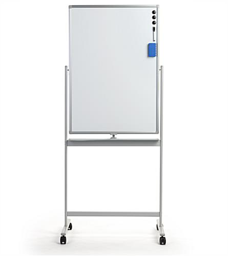 Compact dry erase whiteboard