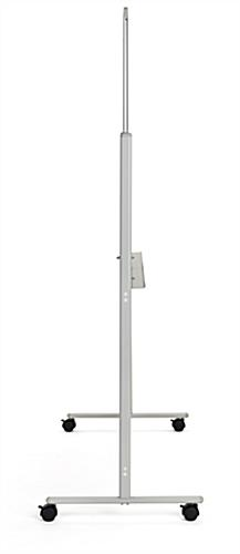 Slim-profile rolling whiteboard