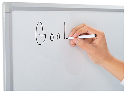 Magnetic dry erase board 36 x 48 scheduling tool