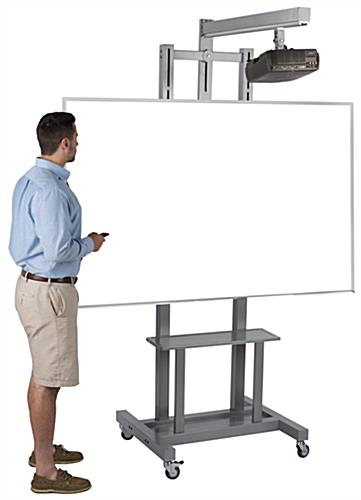 Interactive Whiteboard Stand in Use