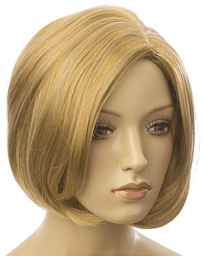 Female Blonde Mannequin Wig is Soft & Natural Feeling