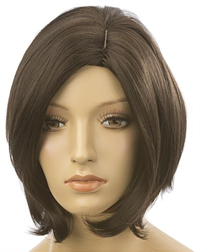 Female Mannequin Wig is Natural & Soft