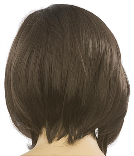 Female Mannequin Wig is Non-Flammable