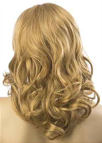 Long Haired Female Blonde Wig for Realistic Mannequins