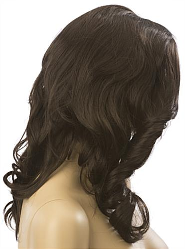 Long Haired Female Brown Wig is Soft