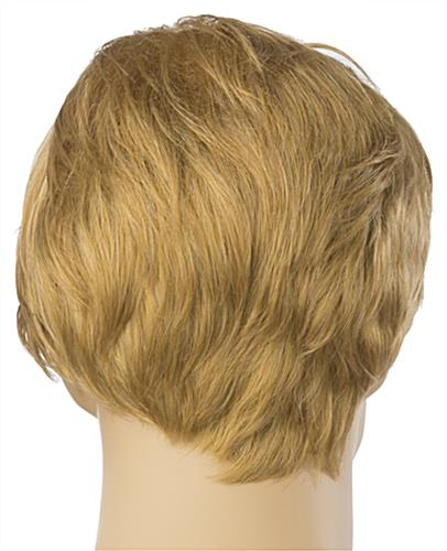 Male Blonde Mannequin Wig is Adjustable