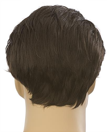 Male Mannequin Wig is Adjustable