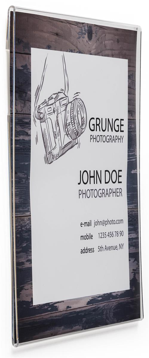 Wallmounted Sign Holder Displays 11 Quot X 14 Quot Advertisements