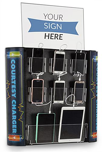 Wall Mounted Multi Device Charging Kiosk