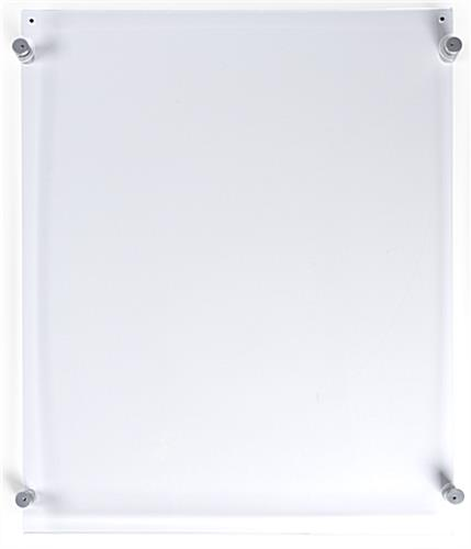 "18"" x 24"" sign frame with clear acrylic construction"