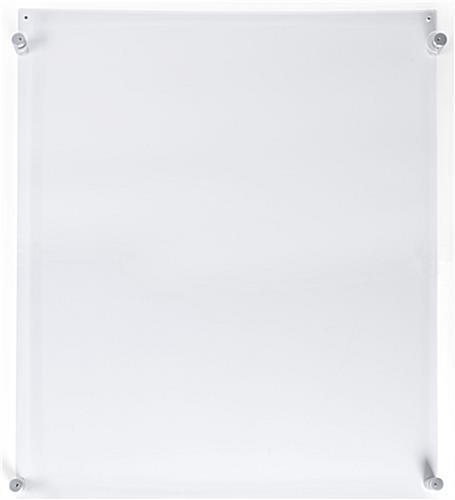 20 x 30 plexi frame magnetic fasteners. Black Bedroom Furniture Sets. Home Design Ideas