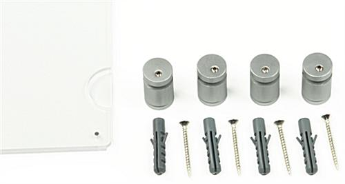 20 X 30 Plexi Frame Magnetic Fasteners