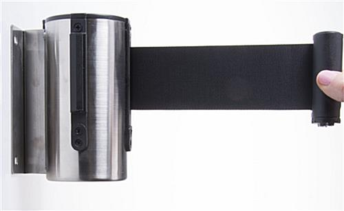 wall mounted retractable barrier