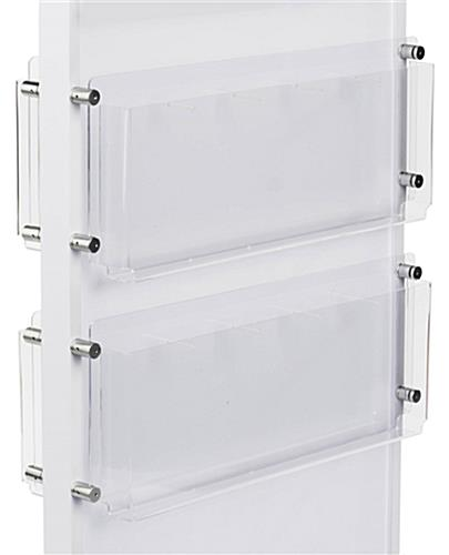 Brochure and Magazine Holder can Accomodate any Size Media