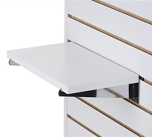 22 x 14 Chrome Slatwall Wire Shelf