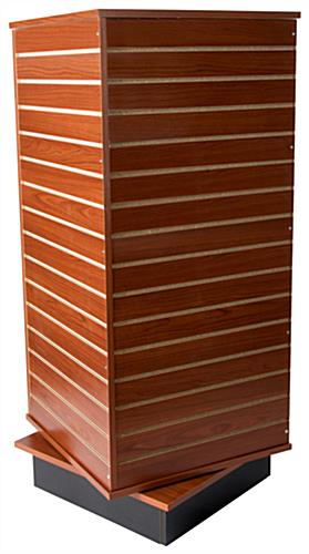 Slatwall Display Tower for Retail Use