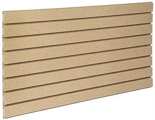 Heavy Duty Slatwall Panel with 7 Channels