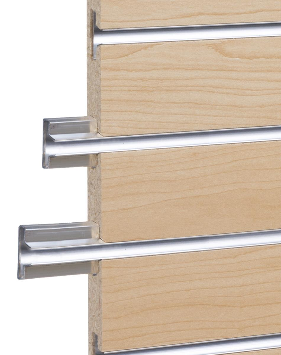 Slatwall Metal Insert Increases Holding Strength
