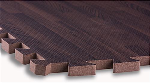 ... Cherry Wood Grain Floor Mats, EVA Foam ...