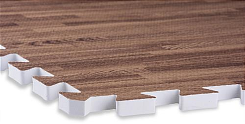 Dark Oak & Light Oak Wood Grain Floor Mats, Anti-Fatigue