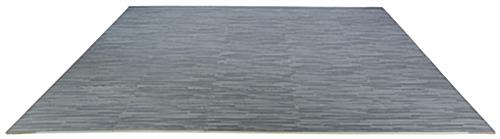Gray Wood Grain Floor Mats, Soft Foam Tiles