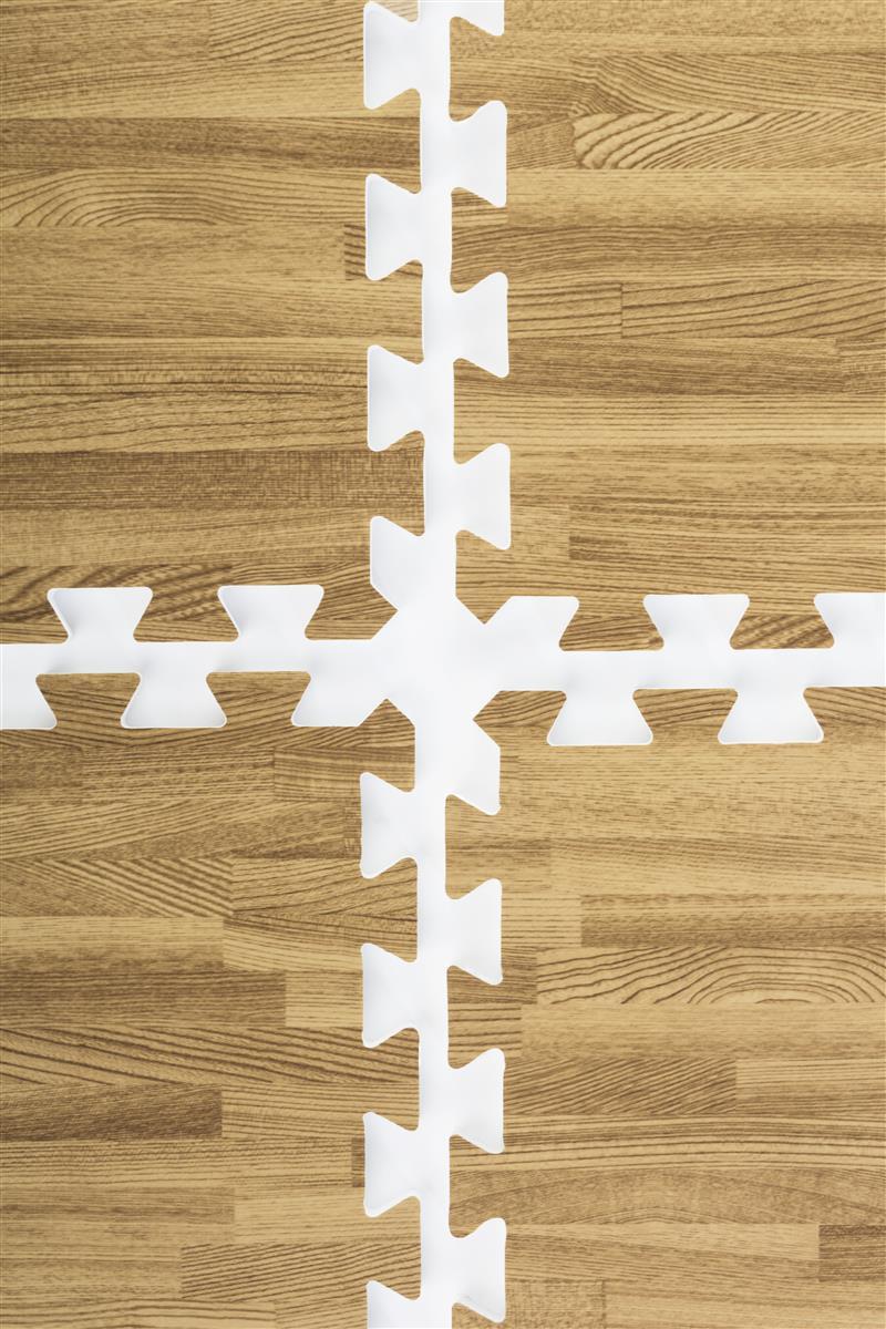 Light Oak Wood Grain Floor Mats 25 Pieces Make 10 X 10