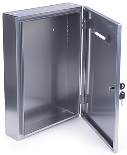 Metal Drop Box Wall Mounting