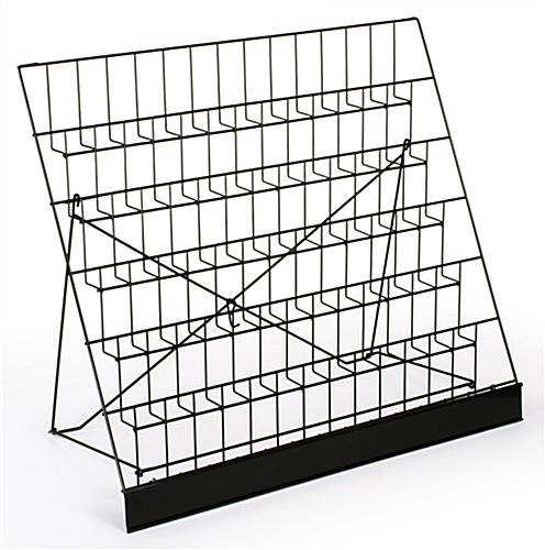 Photo Wire Display wire racks | 6-tier countertop displays for literature