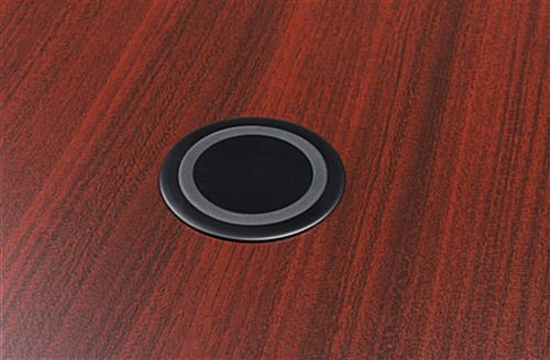 Wireless charging table with Qi technology