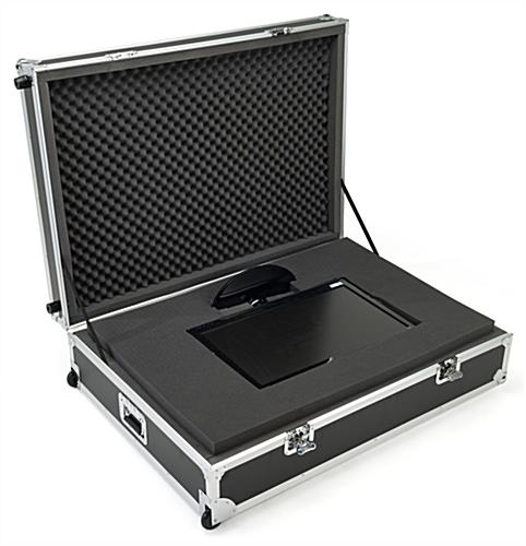 Equipment case foam for protection of electronics and valuables