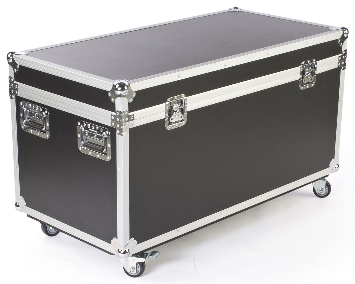 "Displays2go 47"" x 27"" Shipping & Storage Case with 4 Lock..."