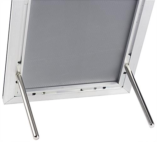 8 x 10 Black Snap Frame with Chrome Pegs