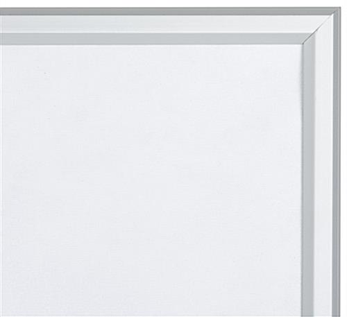 5 x 7 Silver Quick Snap Frame with Beveled Trim