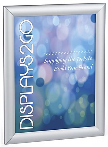 8.5 x 11 Silver Snap Sign Frame - Aluminum