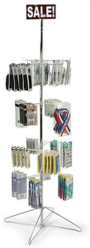 floorstanding merchandise rack