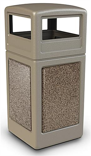 42 Gallon Square Commercial Waste Bin