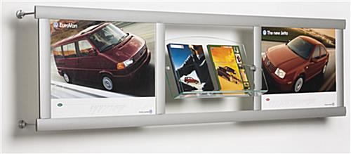 wall mounted catalog rack