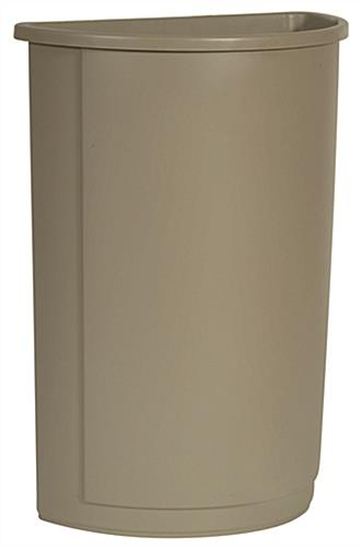 Beige Waste Container