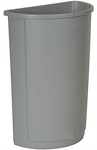 Gray Waste Container