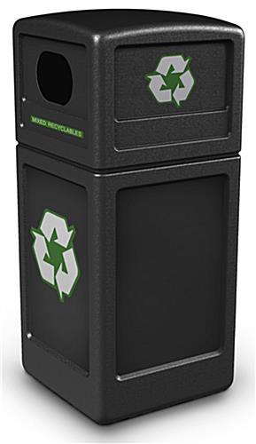 42 Gallon Commercial Recycling Bin