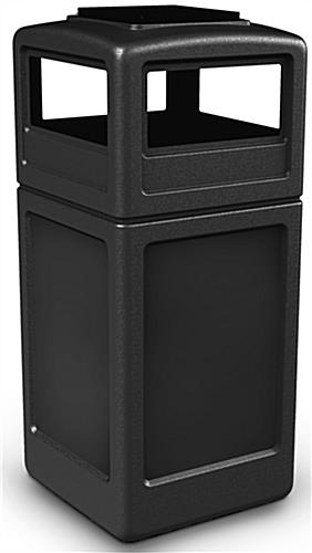 Outdoor Black Ash/Trash Receptacle