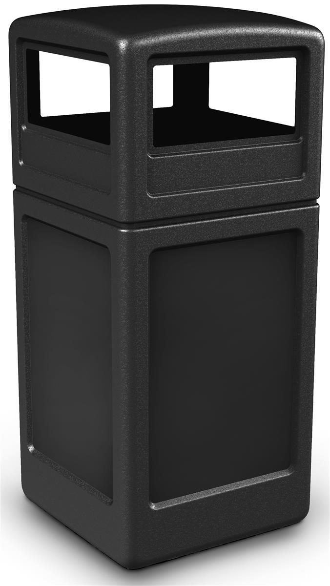 Garbage Bin Square Trash Container W Lid