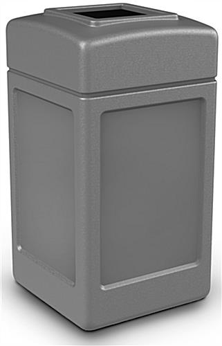 Outdoor Gray Waste Container